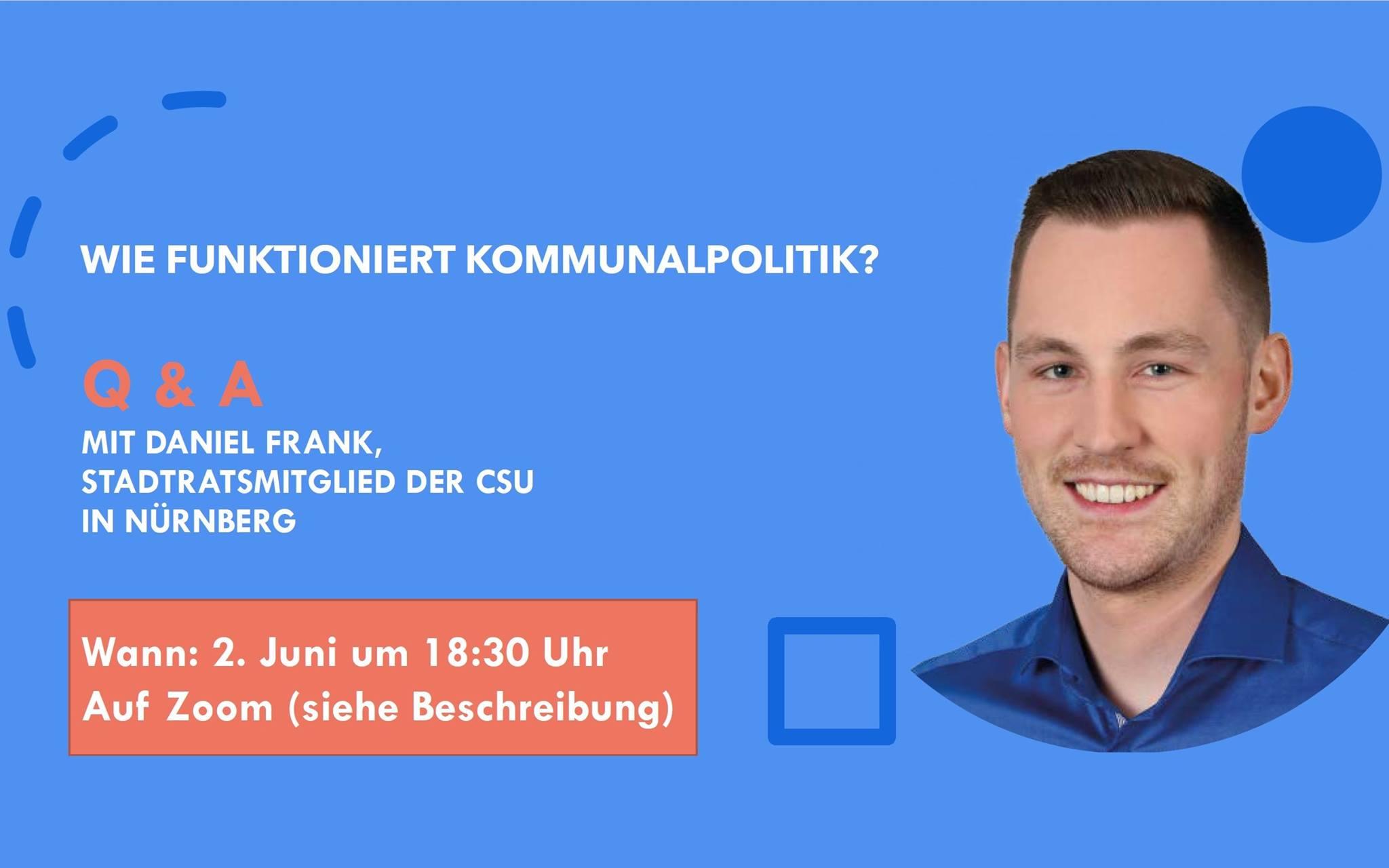 Bild zur Veranstaltung Kommunalpolitik: Frag ein Stadtratsmitglied